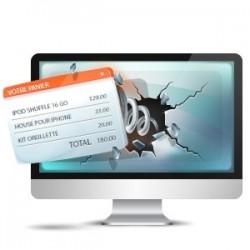 Option pour Shop Online - Modal Cart