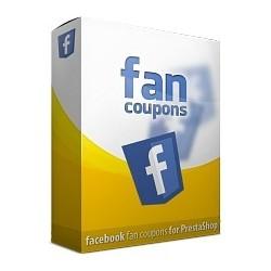 Option pour Shop Online - FaceBooK Fan Coupon