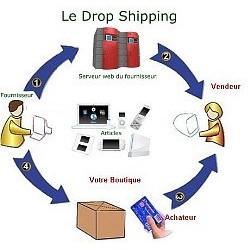 Option pour Shop Online - DROPSHIPPING
