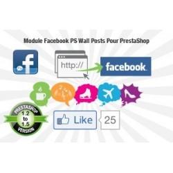 Option pour Shop Online - FaceBootiK PS WALL-POST