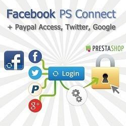Option pour Shop Online - FaceBooK PS Connect